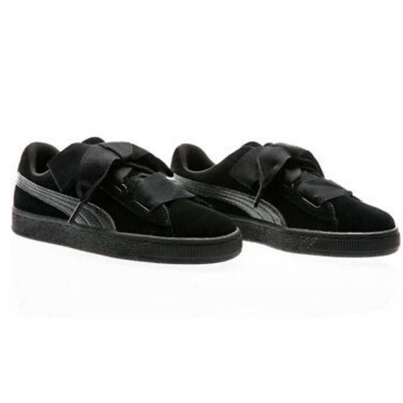 wholesale dealer 4fddb c2f50 Puma black on black suede jewel arctica size 6.5